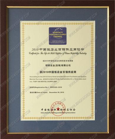 Certificates&Awards - About Ming Fai / Profile - Ming Fai Group
